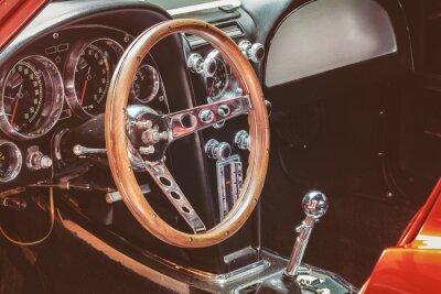 Картина Панель классический автомобиль