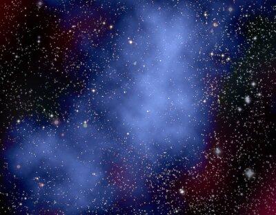 Картина Глубокий космос