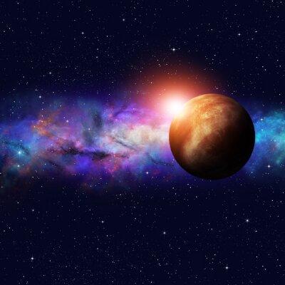 Картина Deep Space Starfield