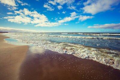 Картина Пустынный пляж