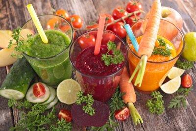 Картина Детокс овощной сок