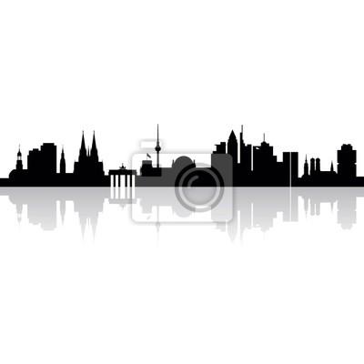 Deutschland - Städte - Панорама