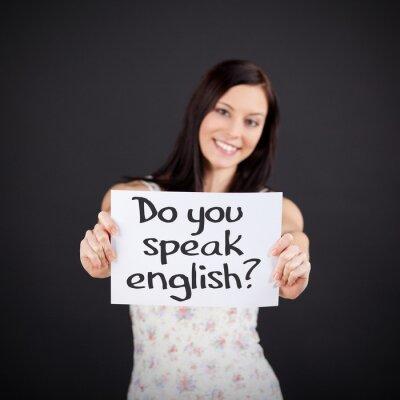 Картина Вы говорите по-английски?