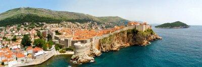 Картина Dubrovnik walls panorama