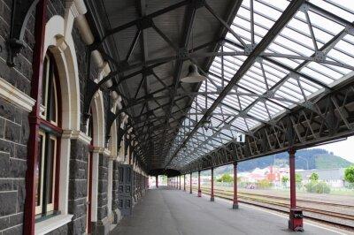 Картина Железнодорожный вокзал Данидин