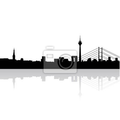 Дюссельдорф Панорама