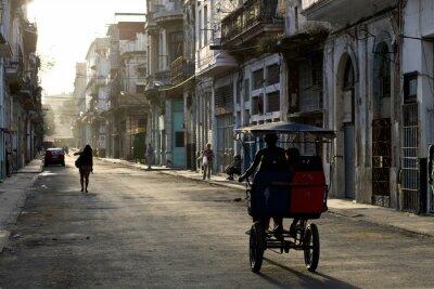 Картина Рано утром на улицах Гаваны Вьеха