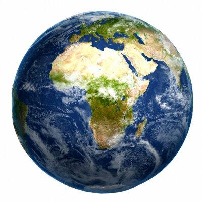 Картина Земной шар Карта