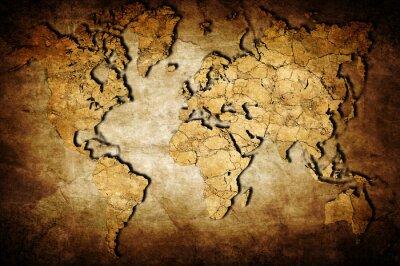 Картина Карты Земли