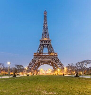 Картина Эйфелева башня Восход