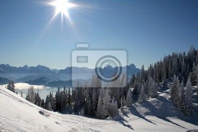 Эйн Perfekter wintertag