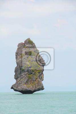 Einsamer Fels