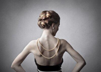 Картина Элегантная женщина