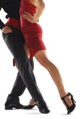 Картина танцоры elegnace танго