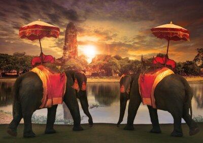 Картина Слон повязка с тайского королевства традиция аксессуаров STANDI