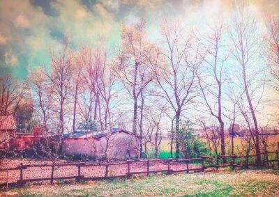 Картина Enchanted countryside series