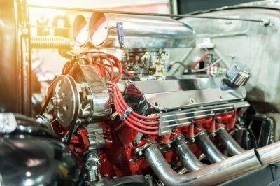 Картина Двигатель горячего стержня