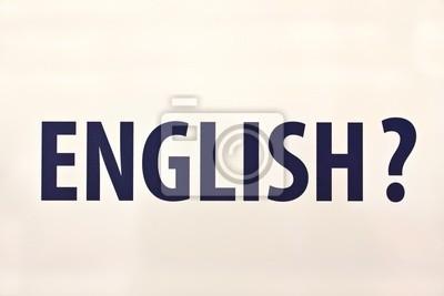 Картина ENGLISH?