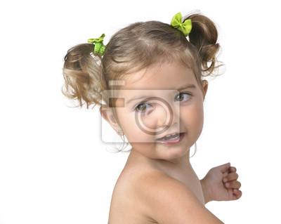 Enternecedor Retrato Infantil.