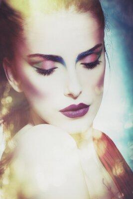 Картина фантазии красоты женщина