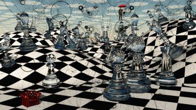 Картина Fantasy Chess