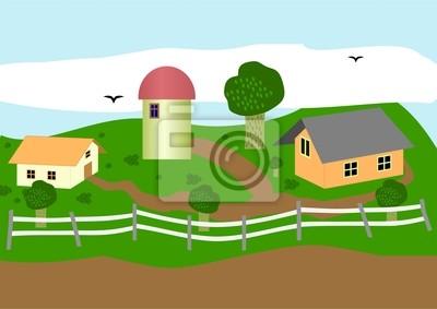 Картина Ферма.