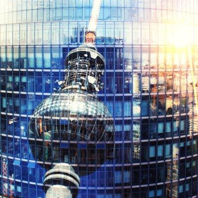 Картина Берлинская телебашня