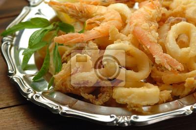 Frittura ди Пеше - Жареная рыба