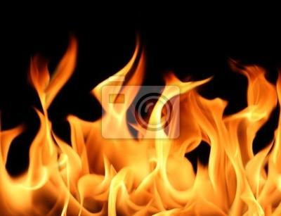 пламя фон