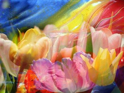 Картина Цветочный поток