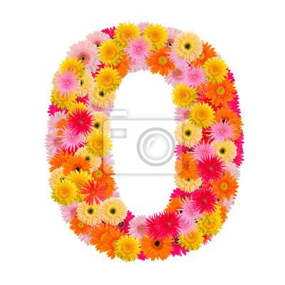 цветок номер ноль. Цветочный элемент красочный алфавит сделал сюда