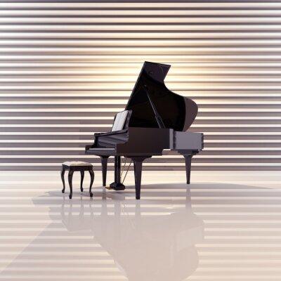 Картина Flügel, Musik, Фортепиано, Konzert
