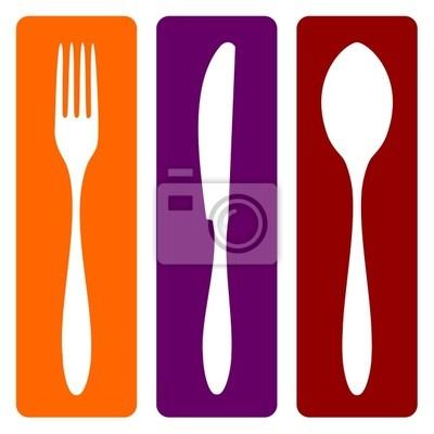 Вилка, нож и ложка