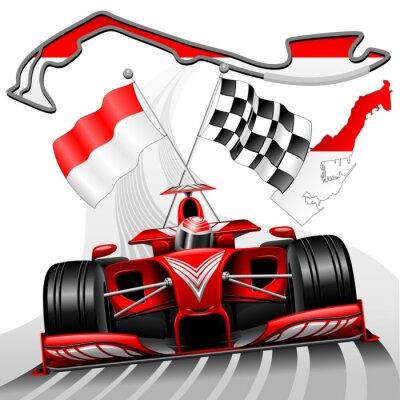 Картина Формула-1 Гран-при Монако