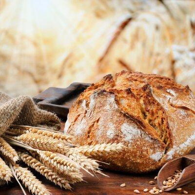 Картина Свежеиспеченный традиционный хлеб