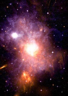 Картина Галактика в свободном пространстве