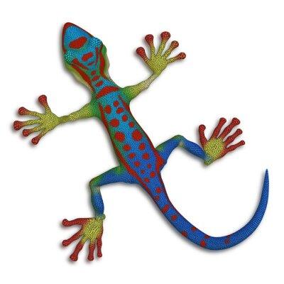 Картина Gecko ящерица
