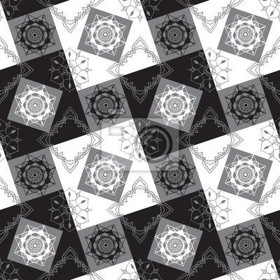 геометрических фон с узорами