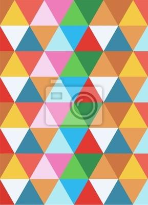 геометрическая красочный фон