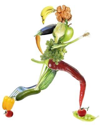 Картина Gesunde Ernährung унд спорт