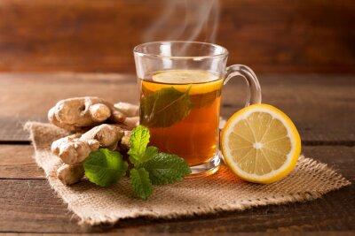 Картина имбирный чай