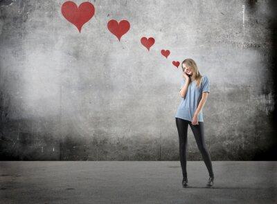 Картина Девушка в любви