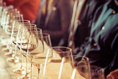 Картина Стекло для дегустации вин