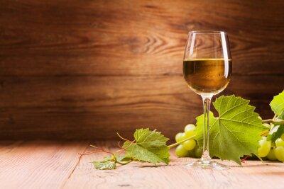 Картина Стакан белого вина.
