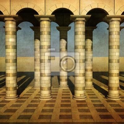 Золото колоннады