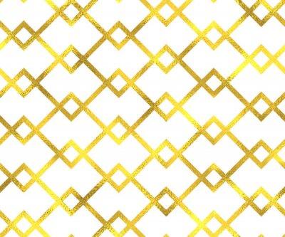 Картина Золотой урожай фольги геометрический узор бесшовный фон