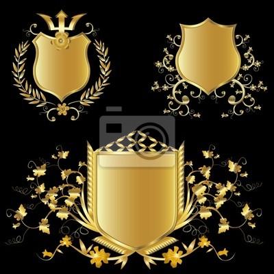 золотые щиты