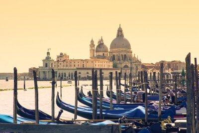 Картина Гондолы в Венеции