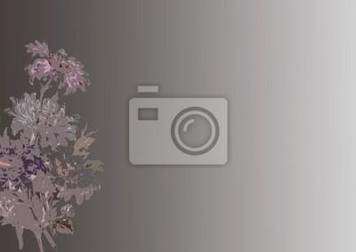 градиент цветок