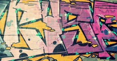 Картина граффити